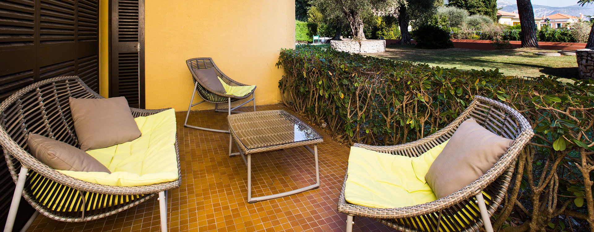 Terrasse Chambres Delcloy