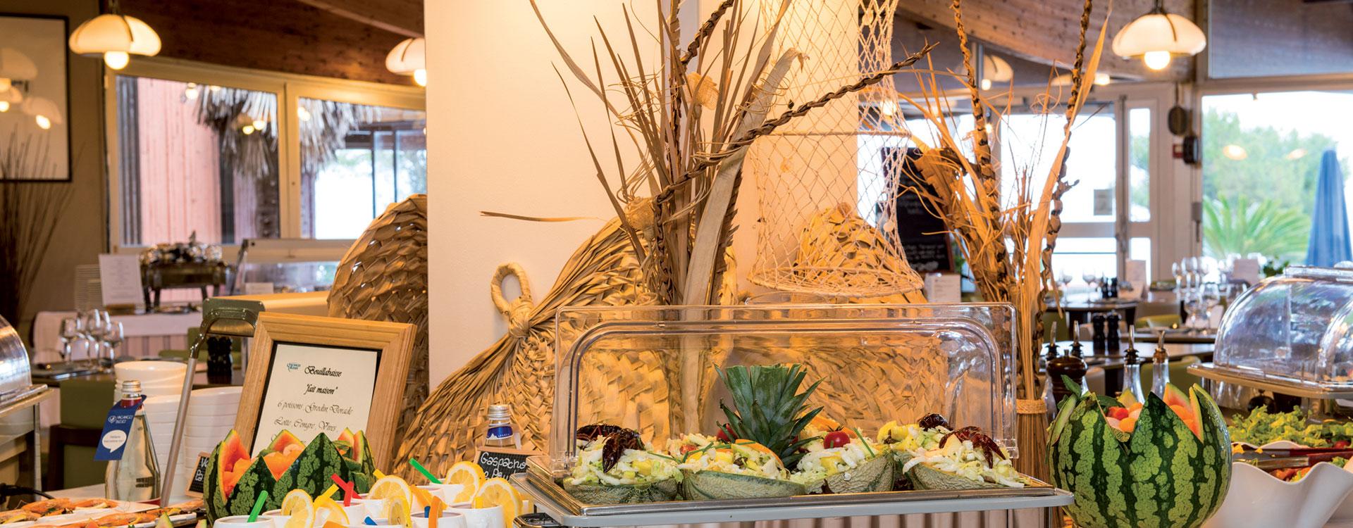 Restaurant buffet Delcloy