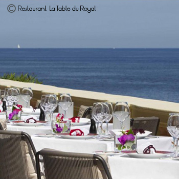 Restaurant La Table du royal Saint Jean Cap Ferrat